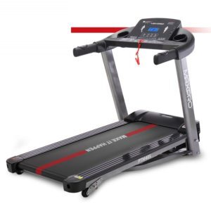 MAXPRO PTM405 2HP (4 HP Peak) Folding Treadmill