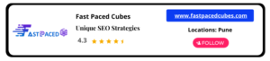 Fast Paced Cubes